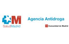 Logo de Comunidad de Madrid - Agencia Antidroga