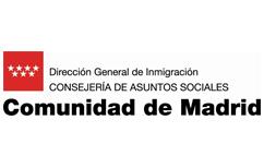 Logo de Comunidad de Madrid - Dirección General de Inmigración - Consejería de Asuntos Sociales