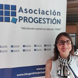 Imagen de Isabel Teruel de la Asociación Progestión