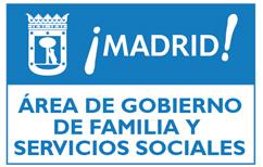 Logo de Ayuntamiento de Madrid - Área de Gobierno de Familia y Servicios Sociales