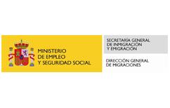 Logo Ministerio de Empleo y Seguridad Social - Secretaría General de Inmigración y Emigración - Dirección General de Migraciones