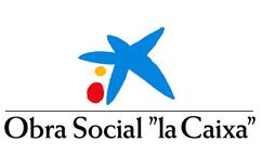 Logo de Obra Social La Caixa