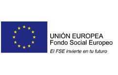 Logo de Unión Europea - Fondo Social Europeo