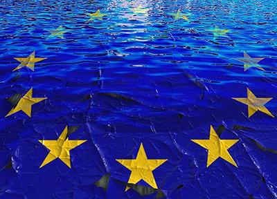 Imagen de la bandera de la UE
